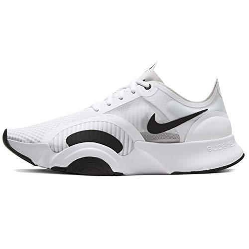 Nike Superrep Go - Zapato de entrenamiento para hombre Cj0773-100, blanco (Blanco/Negro-fotón Polvo), 42 EU