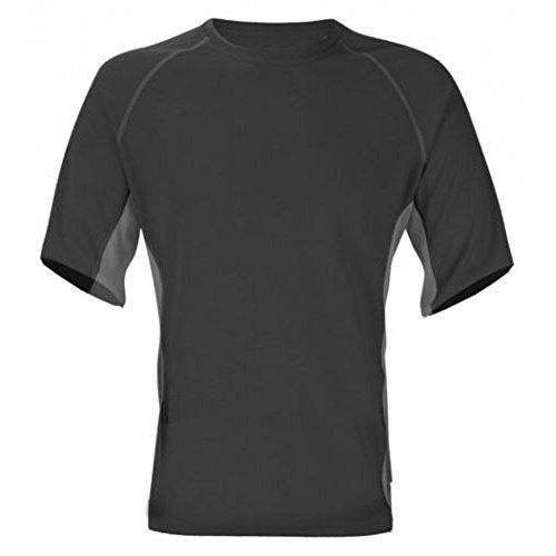 TREKMATES Femmes T-Shirt à col Rond et Manches Courtes Noir Noir x-Large