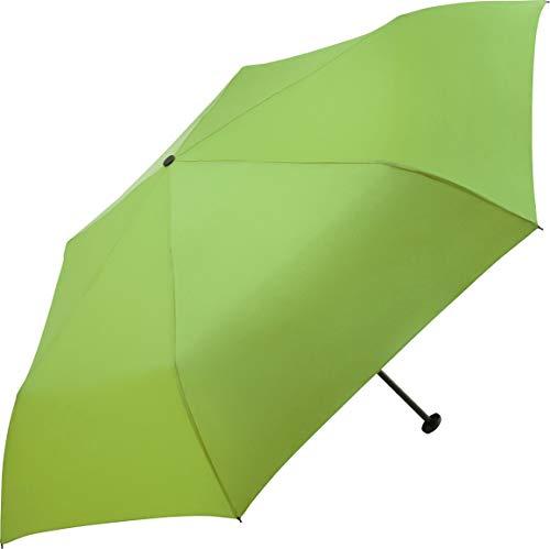 FARE Ultraleichter Mini-Taschenschirm Filigrain Only95 - Mit nur 95 Gramm der leichteste Regenschirm am Markt; Packmaß nur 20cm; perfekt für Jede Handtasche (Limette)
