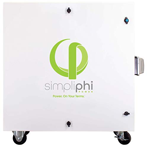 SimpliPhi Express Fuel-Free, Non-Polluting, Mobile Generator Alternative for Indoor/Outdoor Use