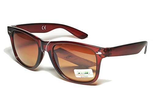 FIKO WAYFARER - Gafas de sol estilo vintage, unisex, años 80 70