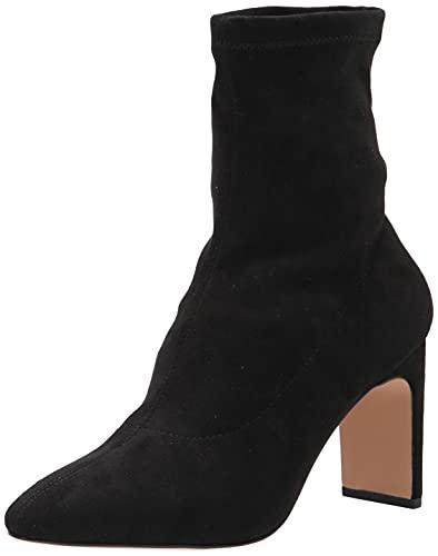 The Drop - Botines calcetín Jane para mujer, con tacón alto
