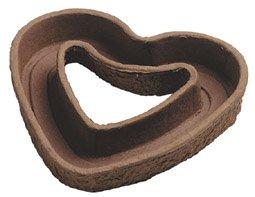 DN-Dekor 016-0021-012 - Pflanzherz, offen, Durchm 35 cm
