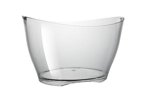 Brevetti Waf Iceberg Clear Bowl Spumantiera Fb-03, Puro Acrilico plexiglas, 13.5 L