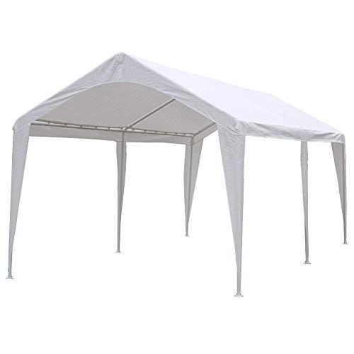 Abba Patio 10 x 20 ft Outdoor Carport Car Canopy Portable Garage Tent...