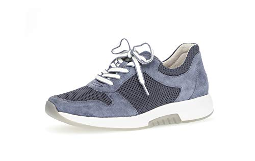 Gabor Damen Low Top Sneaker, Frauen Halbschuhe,lose Einlage,Ladies,Women's,schnürschuhe,schnürer,Halbschuhe,straßenschuhe,Nautic,44 EU / 9.5 UK