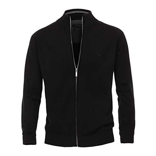 Casa Moda XXL Veste en laine noire , 2xl-8xl:3xl