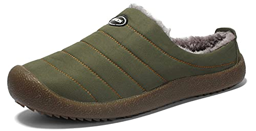 Fur Lined Bivvy Slippers