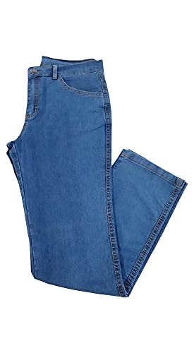 Calça Jeans Masculina Azul Claro Almix (42)