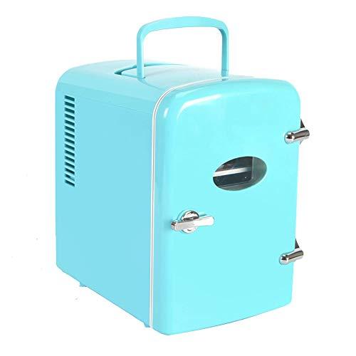 Byjia Mini Refrigerador, Refrigerador Y Calentador, Refrigerador Personal Compacto Portátil, De Doble Uso para El Hogar, La Oficina Y El Automóvil (4L)