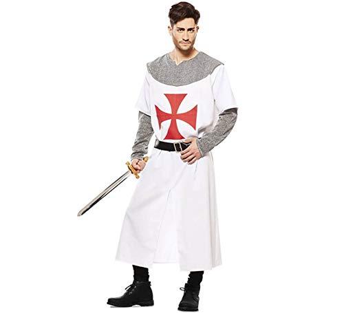 EUROCARNAVALES Disfraz de Caballero Templario para Hombre