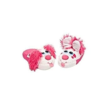 GoDeire TM  Stompeez Slippers Perky Pink Puppy Select Size  Small 9-11 Kids New