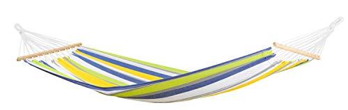 AMAZONAS Stabhängematte wetterfest UV-beständig Tonga Kolibri 200cm x 100cm bis 120kg buntgestreift
