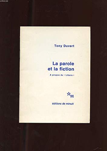 La Parole et la fiction