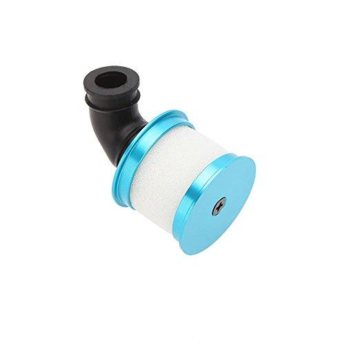Gazechimp Hsp Rc 04104 Couvercle De Filtre à Air en Aluminium Pour 1:10 Modèle Pièces De Voiture Bleu