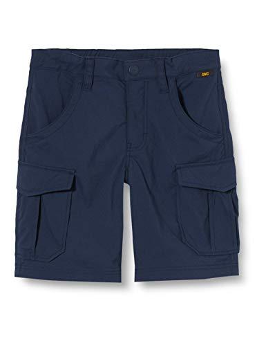 Jack Wolfskin Jungen Treasure Hunter Shorts Kids Schnelltrocknende Kinder Wanderhose Kurz, Night Blue, 152