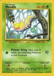 weedle pokemon card