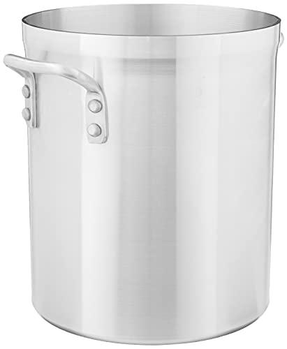 Winco USA - Super Aluminum Stock Pot, Heavy Weight, 16 Quart, Aluminum