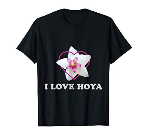 Hoya Porzellanblumen Design für Wachsblumen Hoya Fans T-Shirt