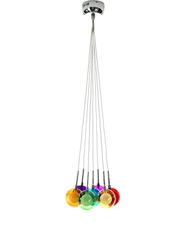 Wink Design Spheres Colors Lampadario 7 Luci G4, 20 W, Multicolore