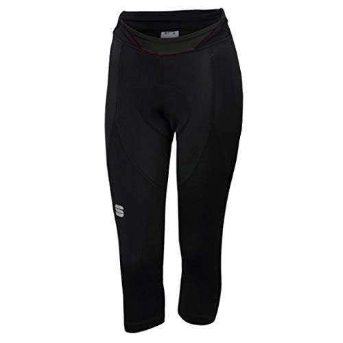 Sportful Pantaloni Ciclismo Neo Donna, Black