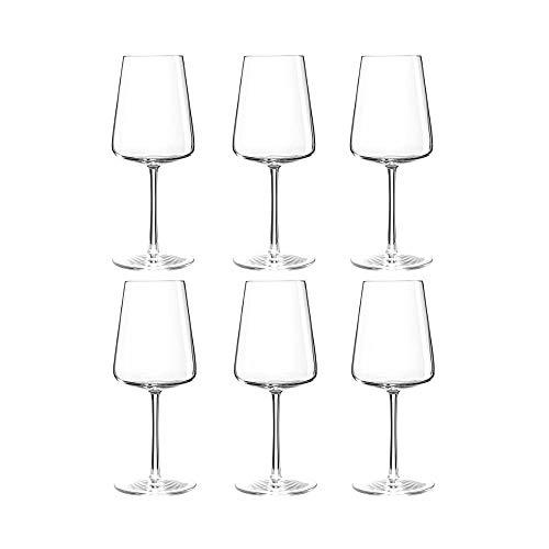 Summa - Copas de Vino. Set de 6 unidades. 400ml/40cl | Cristal, alta transparencia y...