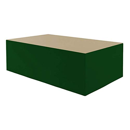 Planesium Premium - Funda protectora para mesa de jardín (575 g/lfm, 200 x 160 x 70 cm), color beige