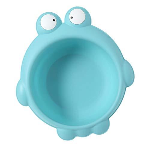 Baby Waschbecken Kinderwaschbecken Cartoon Neugeborenen PP Waschbecken Waschbecken - Frosch blau