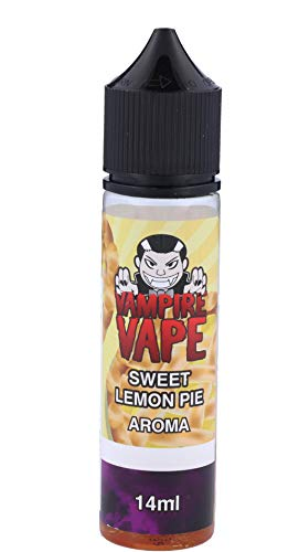 Sweet Lemon Pie 14ml Longfill Aroma by Vampire Vape 0.0mg Nikotinfrei