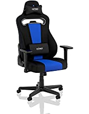 Nitro Concepts E250 Gaming Stoel - Bureaustoel - 125 kg - Kantelbaar van 90° tot 135° - Hoogteverstelbaar - 2D-armleuningen