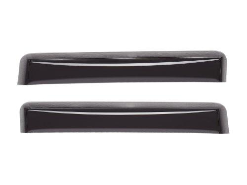 WeatherTech Custom Fit Rear Side Window Deflectors for Dodge Ram 1500, Dark Smoke