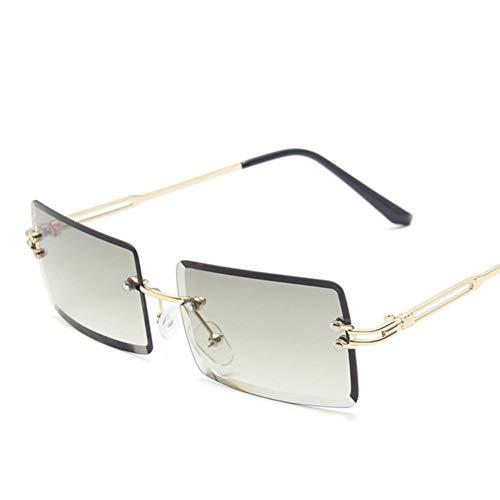 UKKD Gafas De Sol Mujeres Gafas De Sol Retro De Las Mujeres De La Moda De La Moda del Gradiente De Las Gafas De Sol De La Vendimia-C14