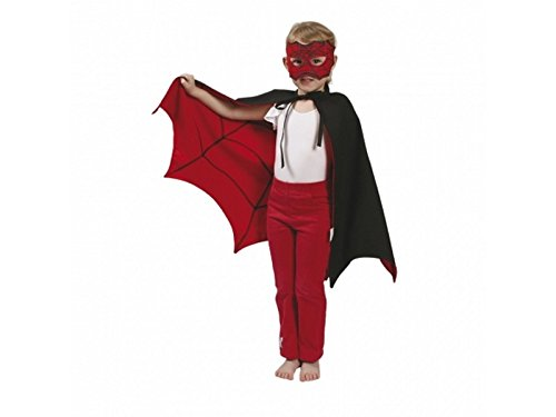 Den Goda Fen - 007845 - Cape De Spiderman/Batman Réversible - Taille Unique