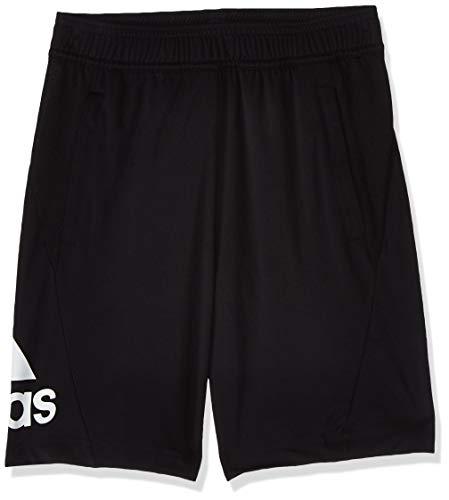 adidas Jungen Shorts Training Equipment, Black/White, 116, DV2918