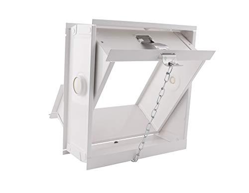 Ventana/Marco abatible y basculante para 1 bloque de vidrio de cm 19x19x8 | Unidad de venta 1 Ventana por 1 bloque de vidrio
