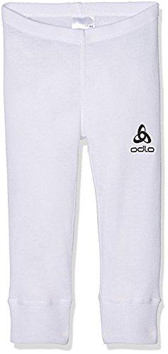Odlo - 10419 - Collant - Mixte Enfant - Blanc - FR : XL (Taille Fabricant : 164)