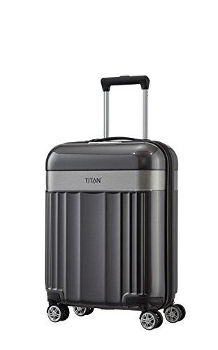 TITAN 4-Rad Handgepäck Koffer mit TSA Schloss, erfüllt IATA Bordgepäckmaß, Gepäck Serie SPOTLIGHT: Edler Bordgepäck Trolley in trendigen Farben,...