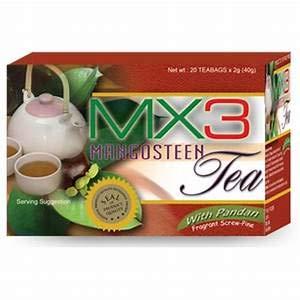 MX3 Mangosteen 20 Tea Bags