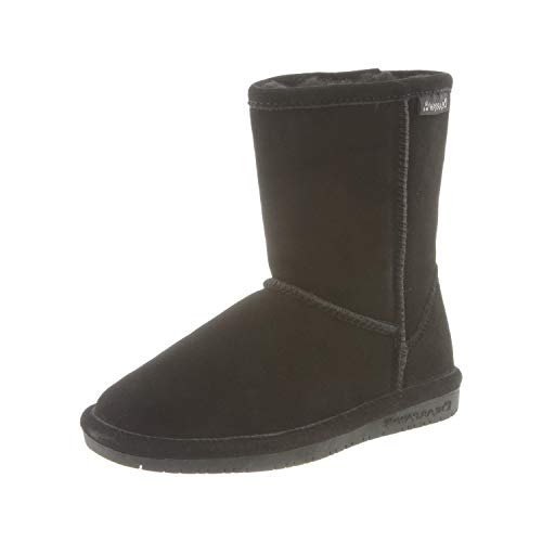 Bearpaw Emma Youth, Stivali da Neve, Black Neverwet 911, 33 EU