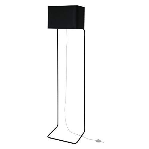 THINLISSIE- Lámpara de pie de metal y chintz con regulador de intensidad...