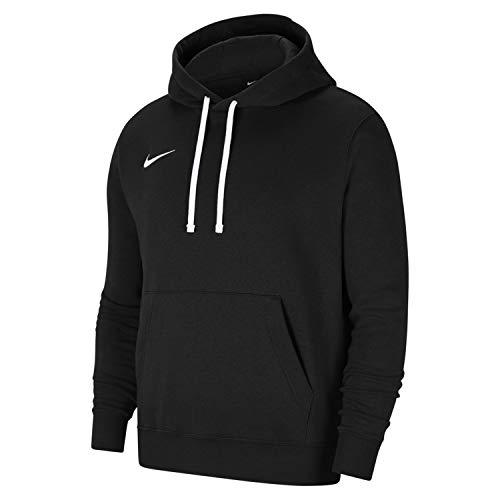 NIKE M NK FLC PARK20 PO Hoodie Sweatshirt, Black/White/White, S Mens