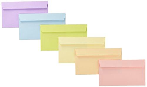 エトランジェディコスタリカ封筒フィオーレエカリーノ洋形7号6色EN1-16