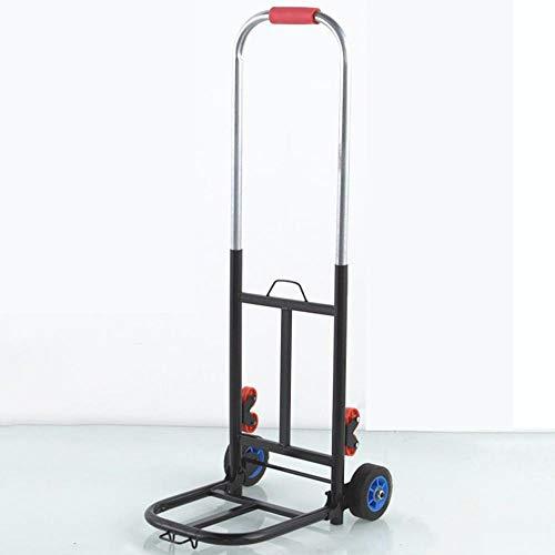 Stahl Einkaufs Höhe verstellbar Leichtgängige Räder mit Soft-Laufflächen und bis 60 kg,Schwarz Einkaufskorb mit Rollen für kleine Boote, Wasserfahrzeuge, Kanus und Kajaks |Wasserdichter Packsack