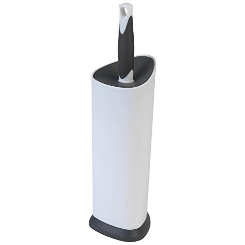 Clorox Toilet Brush and Plunger, White 2 Piece
