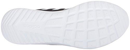 adidas Women's Cloudfoam QT Racer Sneaker, Black/White/Carbon, 9 M US 11