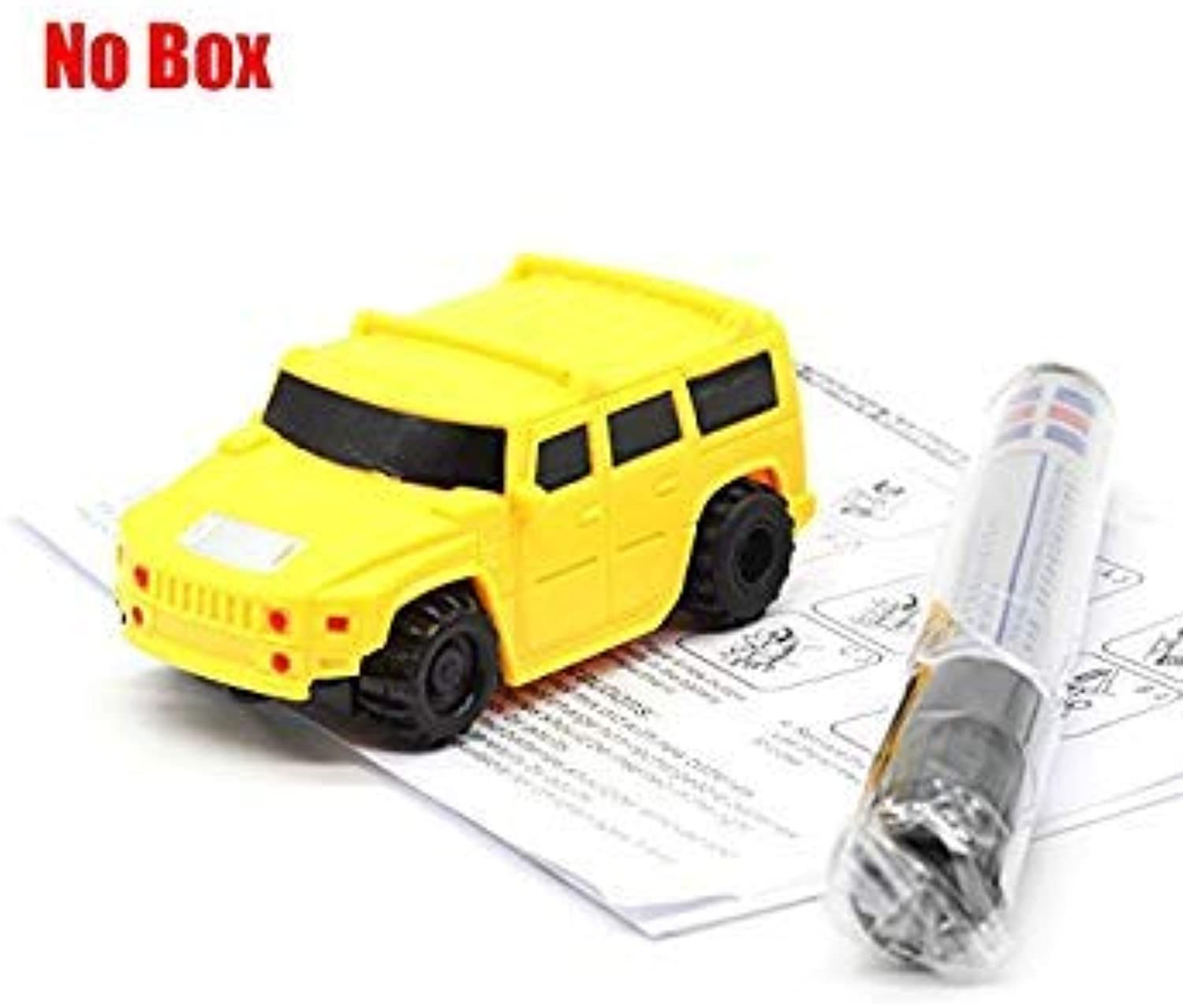 HOT Free Delivery Magic Pen Inductive Car Truck Follow Any Drawn Black Line Track Mini Toy Engineering Vehicles Educational Toy A05 NO Box