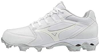 Mizuno 320590.0000.11.0900 9-Spike Advanced Finch Elite 4 Womens TPU Molded Softball Cleat White  0000  9  0900