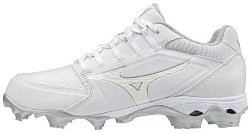 Mizuno 320590.0000.03.0500 9-Spike Advanced Finch Elite 4 Womens TPU Molded Softball Cleat White (0000) 5 (0500)