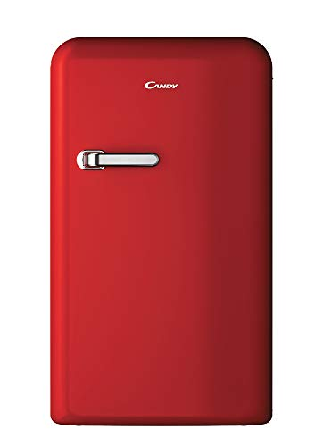 Candy DIVO CKRTOS 544RH Frigorifero Tavolo, 124 Litri, A+, 960x545x615 mm, 40 dB(A), Rosso