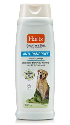4. Hartz Groomer's Best Anti-Dandruff Shampoo